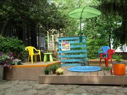 Build A Multilevel Deck For Kiddie Pool