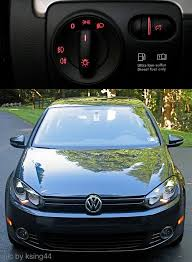 drl disable brightness adjustment fogs with vcds mk6 vw tdi