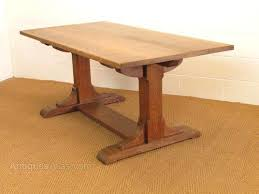 Arts And Crafts Dining Table Heals Oak Refectory Room