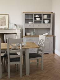 Make An Impression With The St Ives Large Dresser Its Light Grey Paint Finish Is Chic And Modern Solid Oak Painted