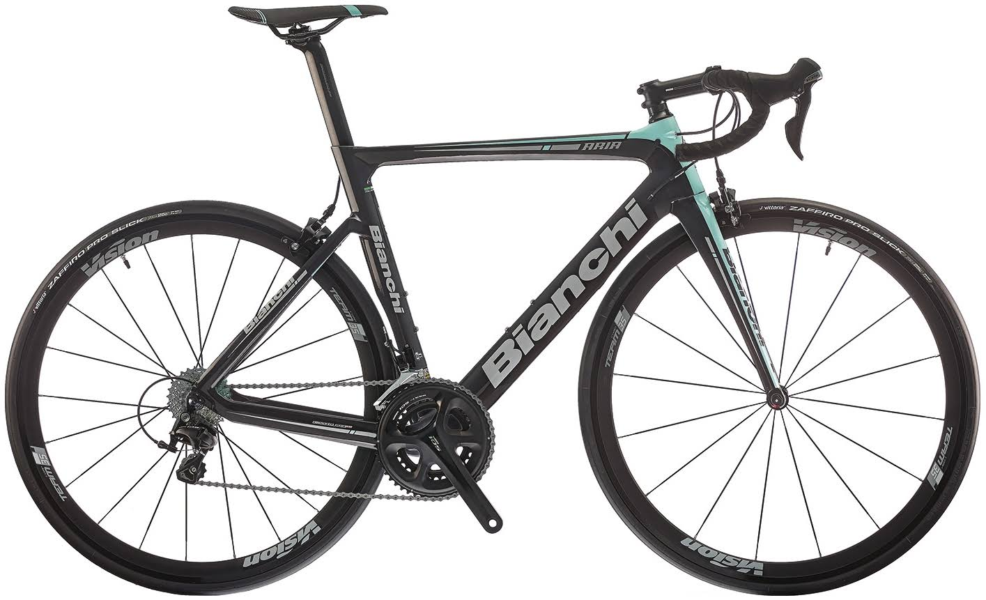 Bianchi Aria 105 2018 Carbon Road Bike Black