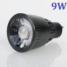 ultra bright gu10 led cob light 9w warm white wide angle spotlight