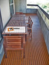 honey teak plastic resin outdoor floor tiles outdoor floors
