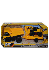 100 Caterpillar Dump Truck Toy CAT And Trailer