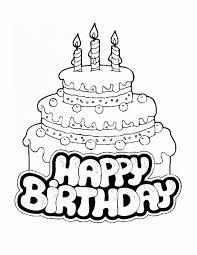 Sketch Birthday Card New Happy Birthday Drawing Ideas