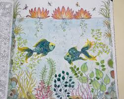 Speed Colouring Secret Garden Underwater Scene Part 3 Last