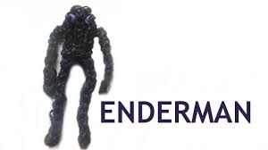Minecraft Enderman Pumpkin Stencil by Enderman Rainbow Loom Minecraft Tutorial Easy To Make Loom