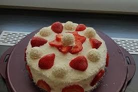 erdbeer raffaelo torte irinka85 chefkoch rezept