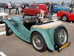 The Ten Best Classic British Sports Cars Morris Garages MG TC