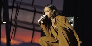 Rihanna Performs On Stage During Her ANTI World Tour Dublin