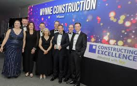 100 Wynne Construction Named Best SME In Construction Industry