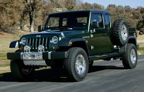 Jeep Reportedly Developing A Wrangler Pickup Truck