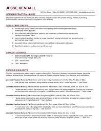 Lvn Nursing Resume Examples