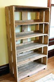 wooden pallet bookshelf – thespokesman