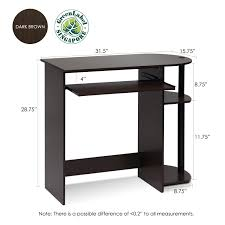 Mainstays Corner Computer Desk Instructions by Furinno Simplistic Easy Assembly Computer Desk Multiple Colors