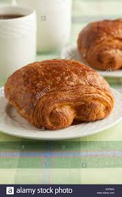 Fresh French Chocolate Croissant For Breakfast
