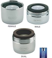 Chicago Faucet Aerator Adapter by Shop Low Flow 0 5 Gpm Faucet Aerators For The Bathroom