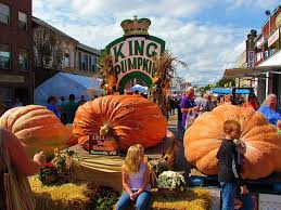 Pumpkin Festival Circleville Ohio 2 by King Pumpkin At The Barnesville Ohio Pumpkin Festival Ohio