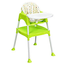 Costzon Convertible High Chair, 4 In 1 Table And Chair Set, Snacker High  Chair Seat, Toddler Booster...