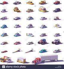 Vector Cars And Trucks Icon Set Stock Vector Art & Illustration ...