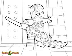 LEGO Ninjago Coloring Page Jay Tournament Of Elements Printable Color Sheet