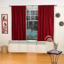 buy curtains maroon colour window curtains quality crush material