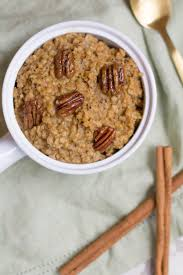Dunkin Donuts Pumpkin Spice Latte 2017 by Healthy Crockpot Pumpkin Spice Latte Oatmeal The Clean Eating Couple