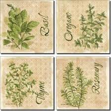 Accent Tiles For Kitchen Backsplash Herbs By Mullen Ceramic Accent Tile Set 4 25 X 4 25 Kitchen Backsplash