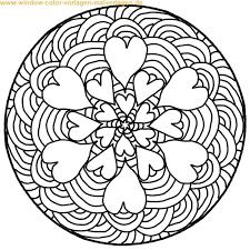 Ausmalbilder Mandala Buchstaben