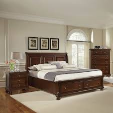 Brass Beds Of Virginia by Richmond 4 Piece Queen Storage Bedroom Set