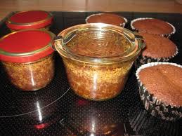 bounty kuchen im glas