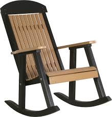 poly highback porch rocking chair contemporary outdoor rocking