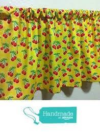 Amazon Yellow Kitchen Curtains by 3 Piece Printed Kitchen Curtains Set Fruit Lemon General Https