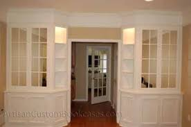 Custom Built In Dining Room And China Cabinets