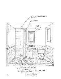 5x8 Bathroom Floor Plan by 6x8 Bathroom Layout Home Design