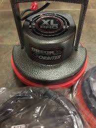 Used Oreck Floor Scrubber by Oreck Xl Professional Grade Orbiter Almost New For Sale