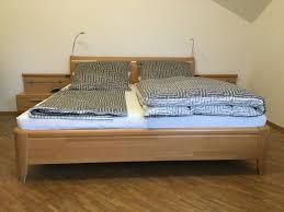 komplettes schlafzimmer in buche teilmassiv