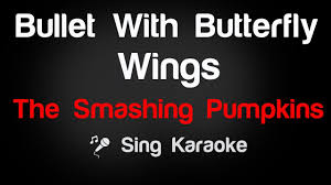 Youtube Smashing Pumpkins by The Smashing Pumpkins Bullet With Butterfly Wings Karaoke Lyrics