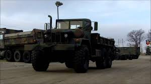100 5 Ton Army Truck M813A1 WWinch 66 Military Cargo Winches Towing