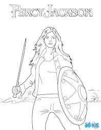 Annabeth Chase Coloring Page