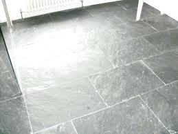 Grey Tile Floor Dark Hexagon Kitchen Tiles Top View Wood