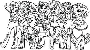Twilight Pony Coloring Pages Free My Little Sparkle Sparkl