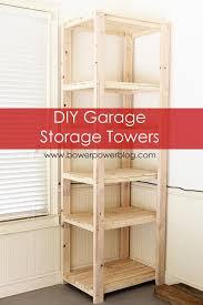 garage towers towers storage and diy garage storage