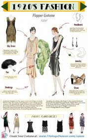 1920s Flapper Costume Guide What To Wear And Where Buy Vintage Inspired