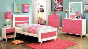 Kimmel Twin Platform Bed Pink Blue And Interalle