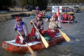 Crazy Creek Canoe Chair 3 by Watch Participants Race Down The Frigid And Swift Moving Ganaraska