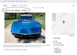 My 1976 Corvette Stingray: Restore, Detail, Fix, Drive: 1969 ... Fancy Craigslist Albany Cars By Owner Vignette Classic Ideas Car Parts Superfly Autos Tasure Coast Best Car 2017 And Trucks Of Triumph Box Sheds Light On Li Motor Parkway Worlds First Highway For Sale Maryland 36999042jpg Fniture Sofas 1990 Ford E350 Camper In Sparta Missouri Tampa Youtube Ironman Western Australia