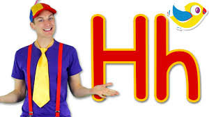 The Letter H Song Learn The Alphabet YouTube