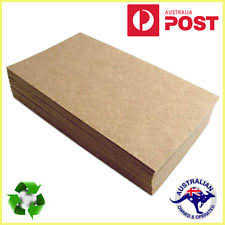 Brown Kraft Paper 200 X Sheets A4 225gsm Natural Recycled Card Premium Quality