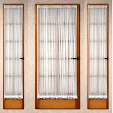 Sidelight Window Curtains Amazon by Curtain Rods Amazon The Crystal Brook Side Light Door Panel